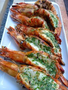 "Market Manila - ""Extra-Colossal"" Shrimp/Prawns a la Marketman - General - Market Manila – ""Extra-Colossal"" Shrimp/Prawns a la Marketman – General - Grilled Prawns, Prawn Shrimp, Grilled Shrimp Recipes, Grilled Seafood, Bbq Prawns, Shrimp Pasta, Pork Rib Recipes, Salmon Recipes, Fish Recipes"