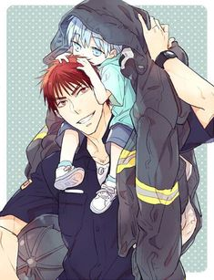 Baby Kuroko is just too adorable~~