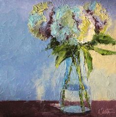 Slices of Life by Leslie Saeta: Painting Flowers