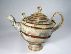 Ceramics by John Calver at Studiopottery.co.uk - 2015. Teapot