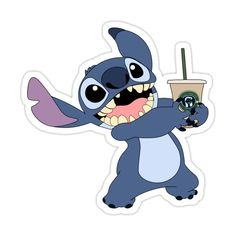 Preppy Stickers, Cute Stickers, Toothless And Stitch, Lilo And Stitch Quotes, Stitch Drawing, Cute Stitch, Tumblr Stickers, Wallpaper Iphone Cute, Aesthetic Stickers