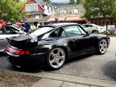 Porsche 993 Turbo with RUF replica wheels. #Porsche