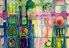 """Istria"" by Marilyn Cvitanic, watercolor, 14"" x 11"""