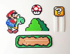 super mario n64 hama beads - Buscar con Google