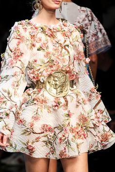 journaldelamode: Dolce & Gabbana Spring 2014 MFW