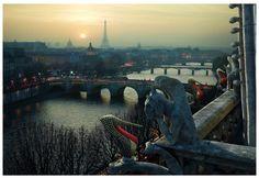 Louboutin's Paris  Location: Chimères, Paris France  Photographer: Peter Lippmann  Shoes:  Lady Peep Spikes 150mm