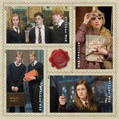 Photos: Harry Potter Forever USPS stamps set all viewable online, orders available now - SnitchSeeker.com