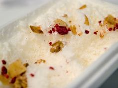 Favorite Snow-Inspired Dishes: Parmesan Snow With Muesli at elBulli