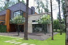 Современный сад в КП Вымпел Вилла 2 - ARCADIA GARDEN Landscape studio