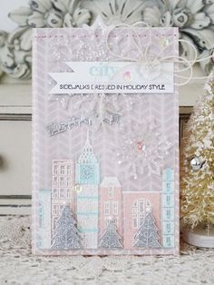 Holiday Style Card by Melissa Phillips for Papertrey Ink (October 2013)