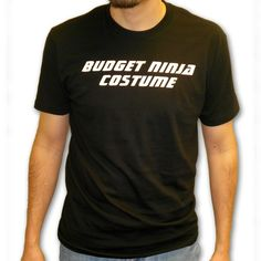 Budget Ninja Costume T-Shirt now available from http://www.karatemart.com