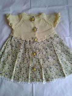 Baby Dress, Crochet Baby, Boho Shorts, Lana, Diy And Crafts, Knitting, Dresses, Women, Fashion