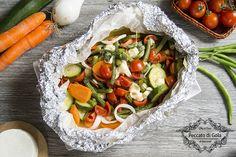 Le verdure al cartoccio sono perfette per tutti quelli che vogliono portare in tavola i colori ed i sapori dell'orto. Una ricetta veggie che vi stupirà!