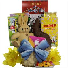 Slam dunk easter easter gift basket 4999 bunny rabbit day cool guy easter gift basket tween boys ages 10 to 13 years old negle Images