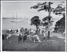 Images of Australia: the Tyrrell Collection of photographs of Australia's history Sydney Harbour 1903