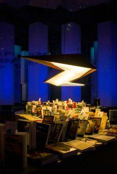 Island of Words @ FBF 2015         Lighting Design : Lumina Group         Pendant design : Lumina Group & Pasagi