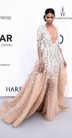 Chanel Iman - Zuhair Murad Couture