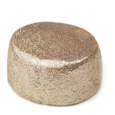 If you love baths and glitter you will love the gold shimmer bath bar from Lush. At $7.25 this Sunny Side bath bar is a splurge but I save money by cutting it into 2. You can find tutorials on You Tube on how best to split bath bars.