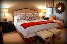 Private Residence, Glen Allen, VA - traditional - bedroom - richmond - Leslie Stephens Design