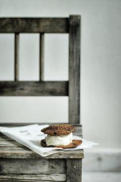 Vanilla Ice Cream Sandwiches