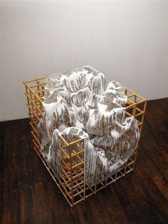 Alois Kronschlaeger, White Cube (2012), via Artsy.net