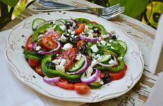 s rápidas, ensalada griega