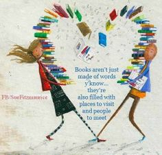 Books aren't just made of words y'know ...