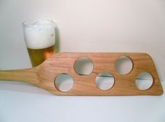 Beer Mash Paddle Cherry Wood by fortremington on Etsy