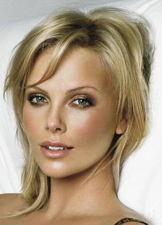 Charlize Theron could be a great Mrs.might be a tad too young though. I Love this woman: Charlize Theron, Simple Beauty, Class & Perfection at it Best Charlize Theron, Wedding Hair And Makeup, Bridal Makeup, Hair Makeup, Eye Makeup, Bronze Makeup, Gold Makeup, Makeup Contouring, Airbrush Makeup