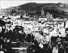 Vista de Cuenca desde el Barrio de San Antón (1900).