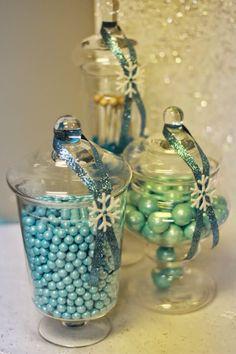 Pretty candy jars!