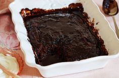 Self-saucing chocolate pudding recipe - goodtoknow