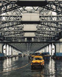 Howrah bridge , Kolkata.