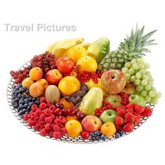 Bowl Of Fresh Mixed Fruit, 3056319, Food & Drink, Fruit, Misc - Stock... ❤ liked on Polyvore featuring food and backgrounds