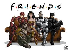 Justice FRIENDS League by Jgass.deviantart.com on @DeviantArt