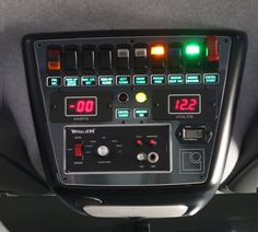 Overhead Switch Console... Would be pretty cool looking