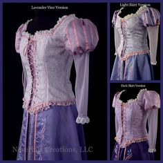 Rapunzel Custom Costume New Fabric Options by NeverbugCreations, $600.00....WISH I HAD THE MONEY FOR IT :'(