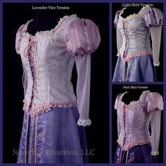 Costume adulte Rapunzel Custom (nouvelles Options de tissu sont disponibles)