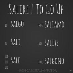 salire | to go up