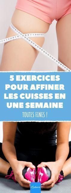 Le programme de Jessica Smith pour affiner ses cuisses en une semaine seulement ! #JessicaSmith #sport #fit #fitness #affiner #cuisses #bienetre #sante #physique #coach #programme #exercices