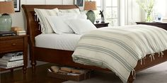 King Sleigh Beds & Ashby Bedroom Furniture   Pottery Barn