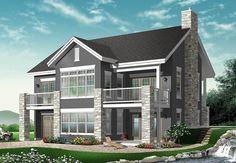 Basement House Plans, Lake House Plans, Garage Plans, New House Plans, House Floor Plans, Walkout Basement, Basement Renovations, Basement Ideas, The Plan