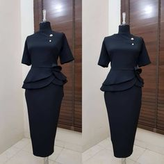 When classy is mentioned, a modest dressed up lady comes to most peoples mind. I for one admire classy ladies for their dressing and sure their intelligence . Church Attire, Church Outfits, Latest African Fashion Dresses, African Print Fashion, Classy Work Outfits, Classy Dress, English Dress, Corporate Outfits, Corporate Attire Women