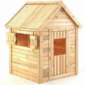 Houten speelhuisje cypresse hout, direct van de importeur