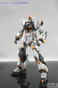 GUNDAM GUY: MG 1/100 Nu Gundam Ver. Ka. - Customized Build Posted
