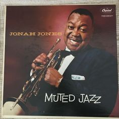 Vintage Capitol Records assorted Covers and Vinyls Jonah Jones Muted Jazz