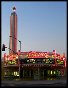 Tower Theater in Fresno California