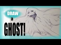 How to Draw a Ghost - Draw Fantasy Art  #sketchmonster   #coolstufftodraw   #howtodrawcoolthings    #funthingstodraw  #fantasyart