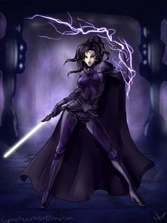 The Force Witch by Evanyell on deviantART