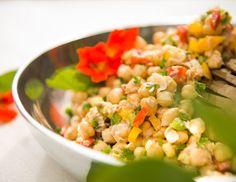 Moldando Afeto » salada de grão de bico com atum — o chef e a chata